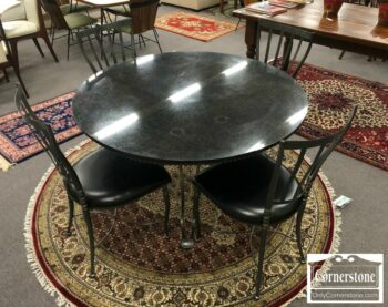 7000-361 - Dinaire Round MT Tbl and 4 Chairs