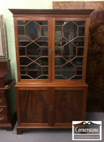 7000-368 - Antique Mahogany China Cabinet