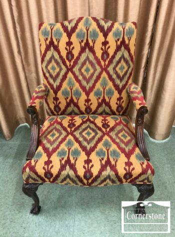 7000-471 - Hickory Chair Mah Chipp B and C Uph Arm Chr