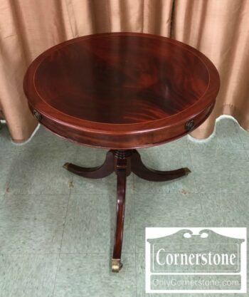 7000-561 - Mahogany Round End Table