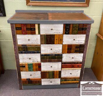 7000-596 - Custom Built Multi Drawer Cabinet