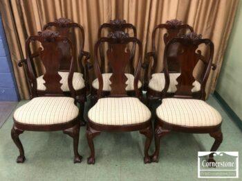 7000-654 - 6 Henkel Harris Sol Mah QA Chairs 102 Phil Chairs