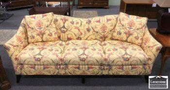 7000-661 - Vanguard Yellow Floral Sofa
