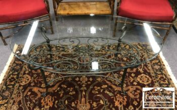 7000-662 - Glass Top Coffee Table