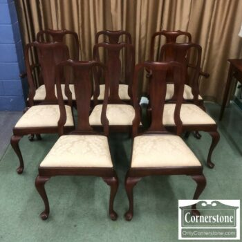 7000-696 - 8 HH Sol Cher QA Dining Chairs