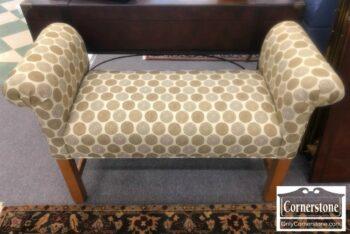 7000-758 - Ethan Allen Upholstered Bench