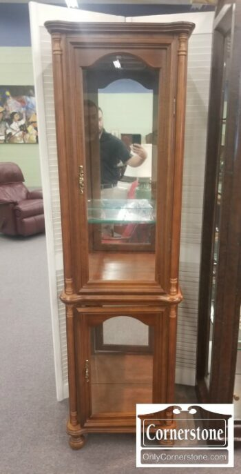 7000-769-Small Narrow Curio Cabinet