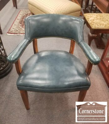 7000-774-Hickory Chair Leather Arm Chair