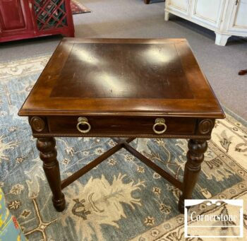 7000-780-Sherill Cherry End Table 1 Drawer