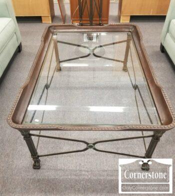 7000-784-Glass Top Coffee Table