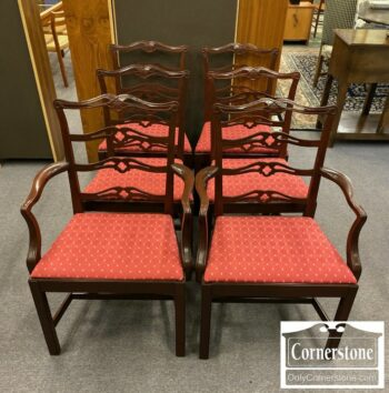7000-798-6 Ladderback Mahogany Chairs