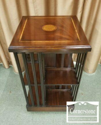 7000-801-Revolving Mahogany Bookcase
