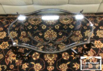 7000-823-Glass Top Coffee Table