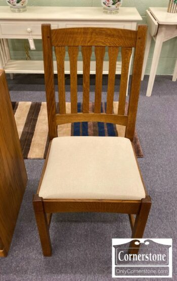 7000-832-Stickley Oak Mission Chair
