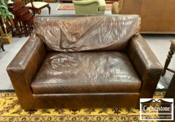 7000-880-Crate and Barrel Leather Chair