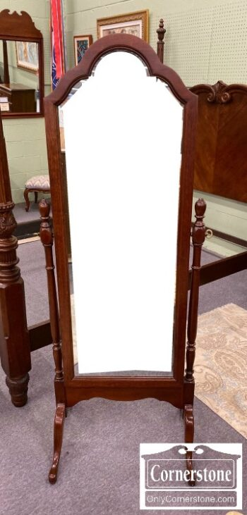 7000-907 - PA House Solid Cherry Cheval Mirror