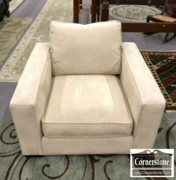 7008-8 - Room and Board Cont. Off White Arm Chair