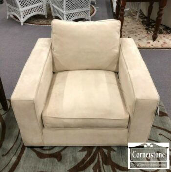 7008-9 - Room and Board Off Cont Off White Arm Chair