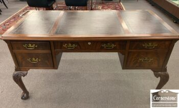 7010-16 - Hekman Mah Chipp Leather Top Desk