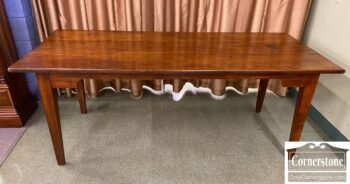 7010-17 - Rustic Walnut Farm Table