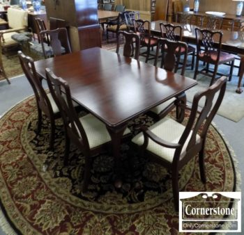 7043-1 - Tom Seely Sol Cher Table and 6 Chairs