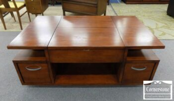 7089-5 - Lift Top Coffee Table in Cherry Finish