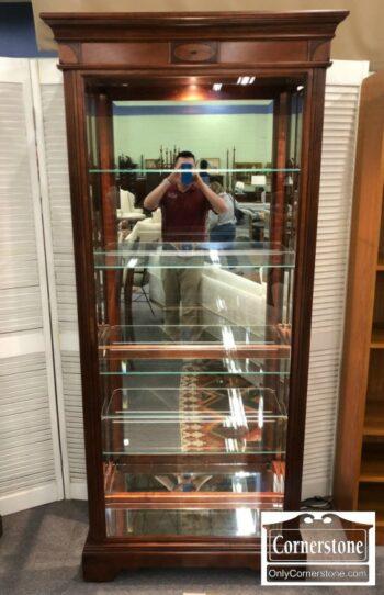 7120-Howard Miller Curio Cabinet