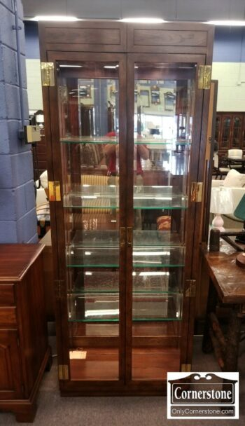 7124-2 - Henredon Curio Cabinet