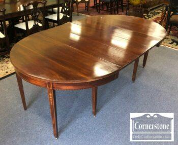 7140-1 - Sol Mah Hepplewhite Round Dining Table