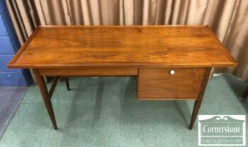 7179-7 - Teak MCM Flat Top Desk