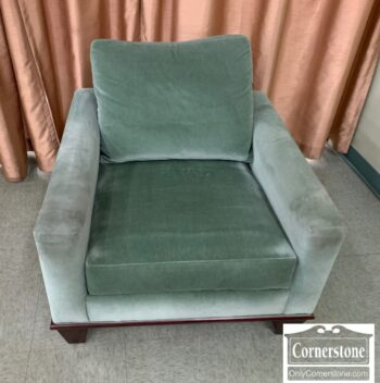 7217-14 - R Jones Dallas Green Velvet Occ Chair