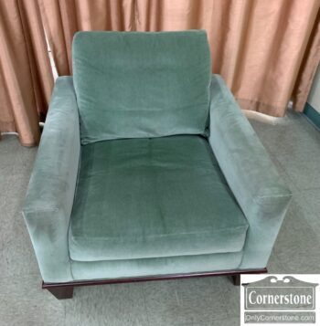 7217-15 - R Jones Dallas Green Velvet Occ Chair
