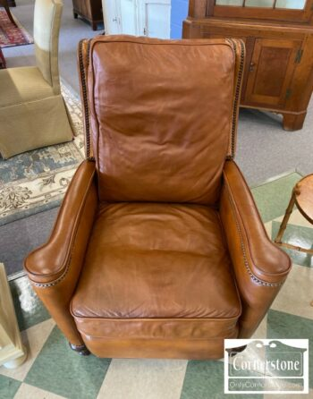 7221-1 - Hooker Contemporary Brown Leather Recliner