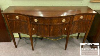 7262-1-Cabinet Made Mahogany Inlaid Sideboard