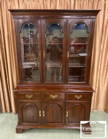7268-1-EA Solid Cherry Hutch
