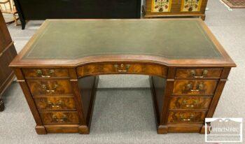 7274-5-Hekman Mah Leather Top Desk