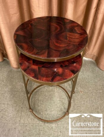 7288-2-2 Stack Round Nesting Tables