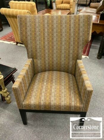 7296-1-Christian Liaigre at Holly Hunt Mod Style Uph Arm Chair
