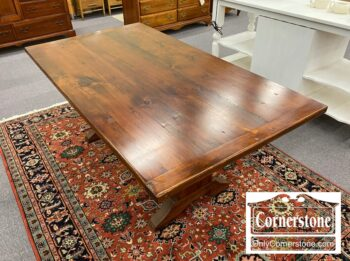 7318-1 - Pine Amish Farm Table