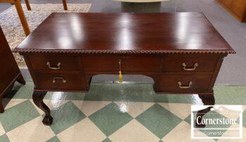 7346-1 - Mah Chipp Desk on Legs B&C Feet