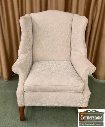 7350-3 - Off White Chipp Wing Chair