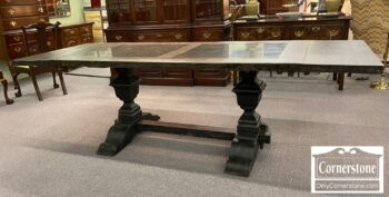 7368-3 - Arhaus Cont Wilhelm Bluestone Top Table