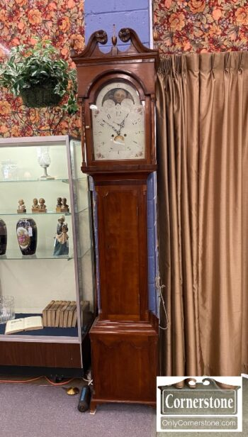 7369-1 - Cherry Ant Americ Tall Case Clock