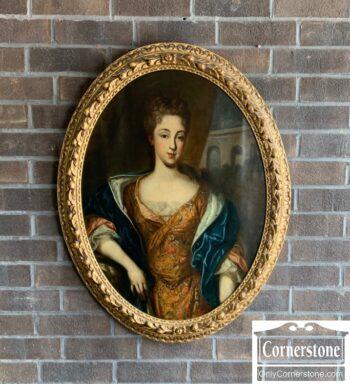 7411-1 - Oil Painting of Sarah Churchill