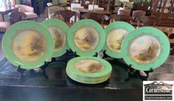 7422-1 - Set of 12 Royal Worcester Plates