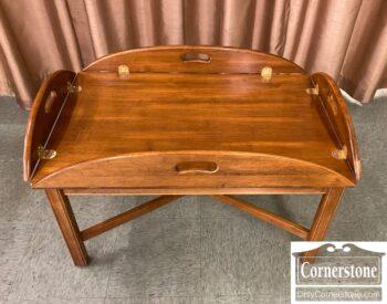 7428-1 - EA Sol Maple Butler Tray Table