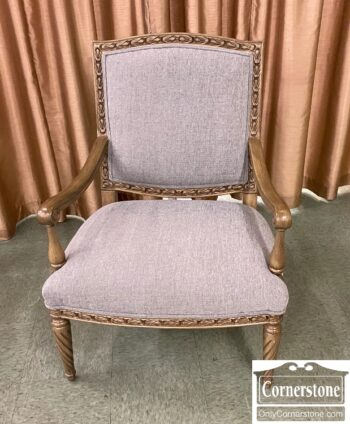 7441-3 - Gray Uph Arm Chair Exp Frame
