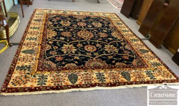7468-5 - Hand Knotted Rug 11-3 x 9
