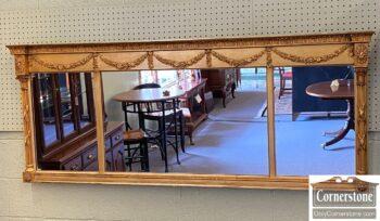 7471-3 - 3 Part Antique Mantle Mirror