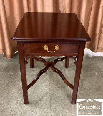 7481-6 - Statton Cherry End Table As Is